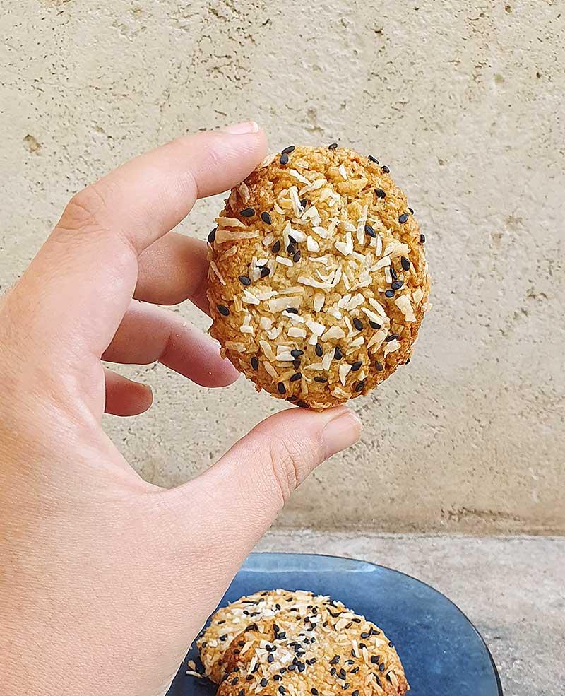 עוגיות טחינה פליאו