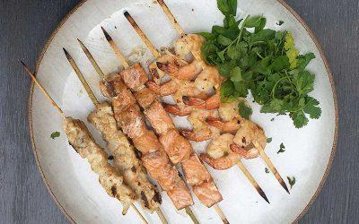 שיפודי דגים תאילנדים