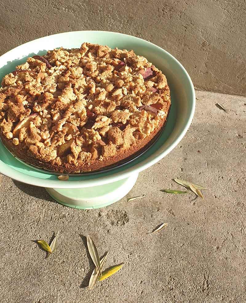 עוגת פירות קיץ פליאו